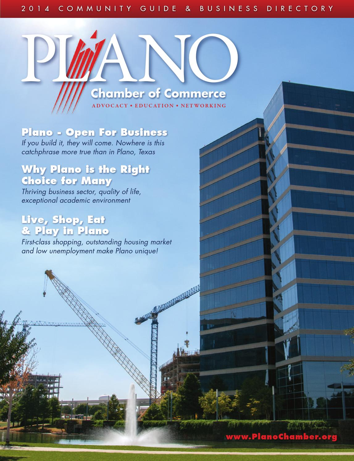 Plano The Guide 2017 by Chamber Marketing Partners, Inc. - issuu