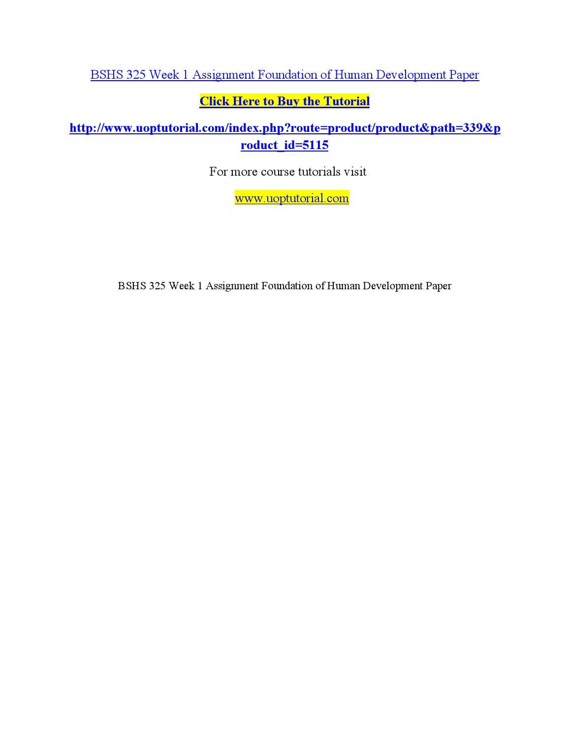 essays on lifespan development