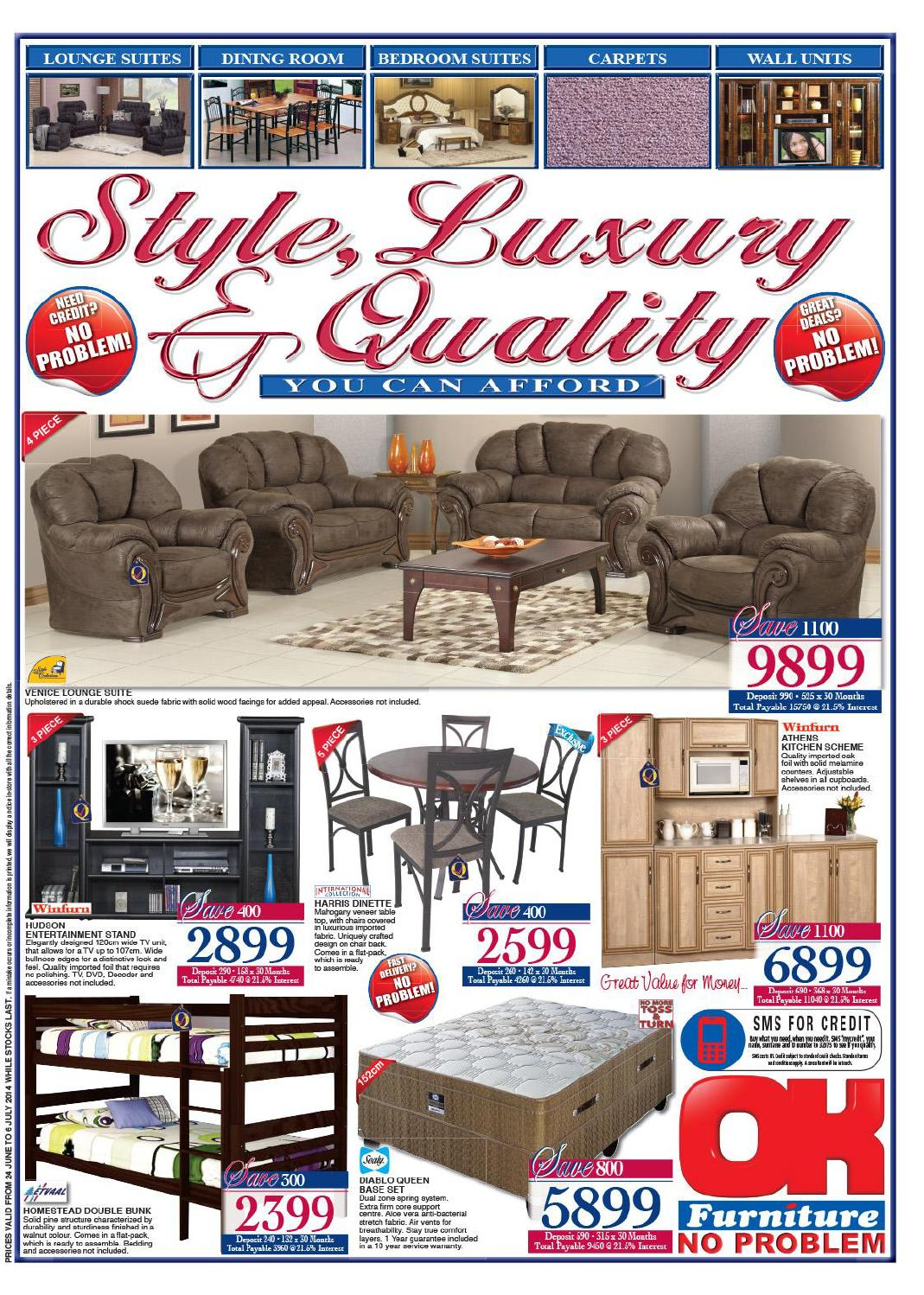 Ok furniture furniture catalogue validity 24 june 6 july for Furniture catalogue