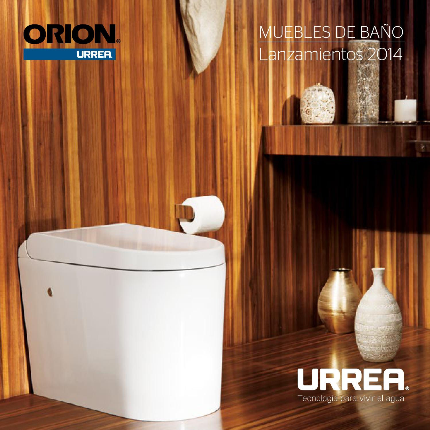 Muebles de ba o by urrea m xico issuu for Muebles de bano urrea