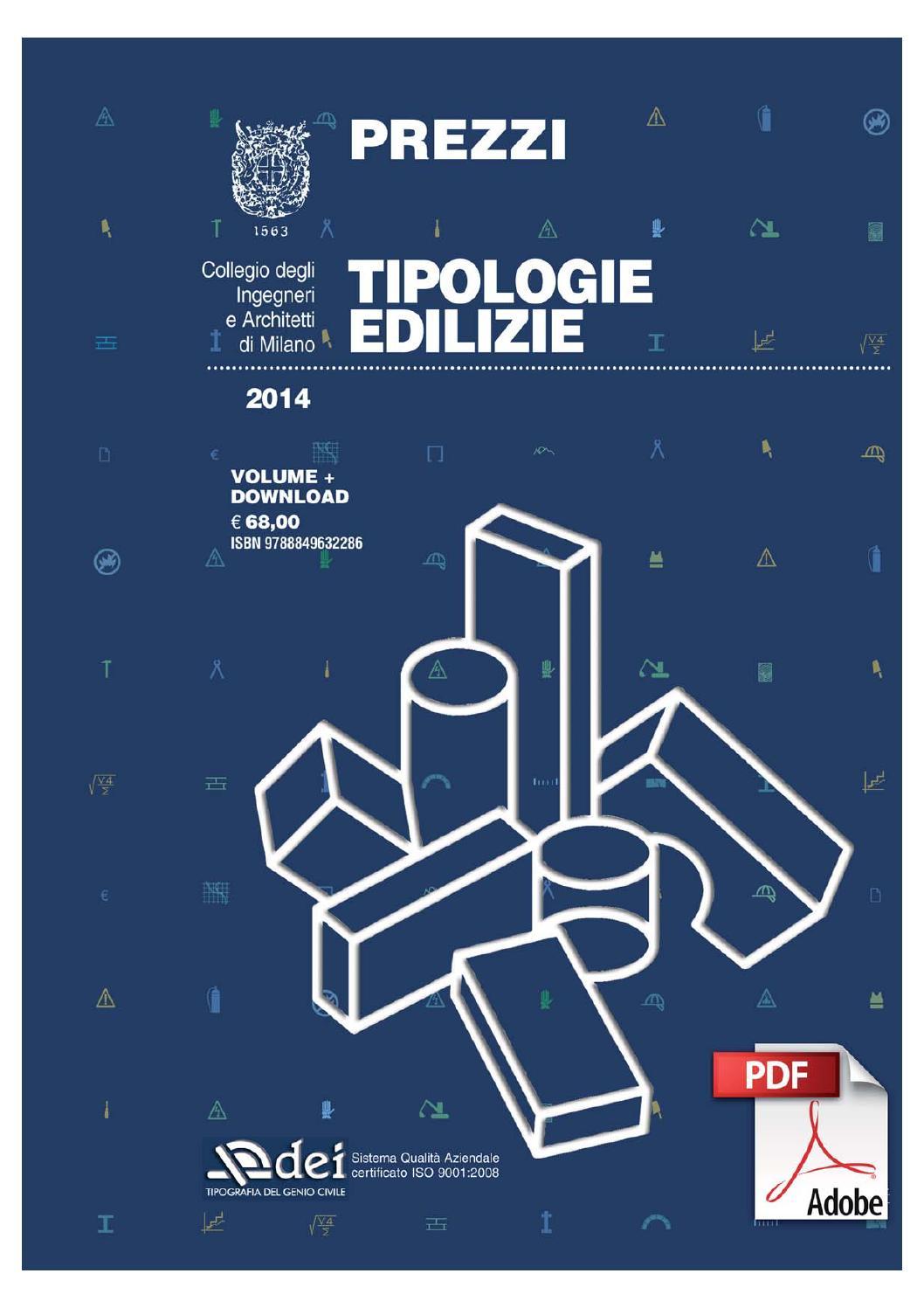 Prezzi tipologie edilizie 2016 confortevole soggiorno nella casa - Prezzario camera di commercio ...
