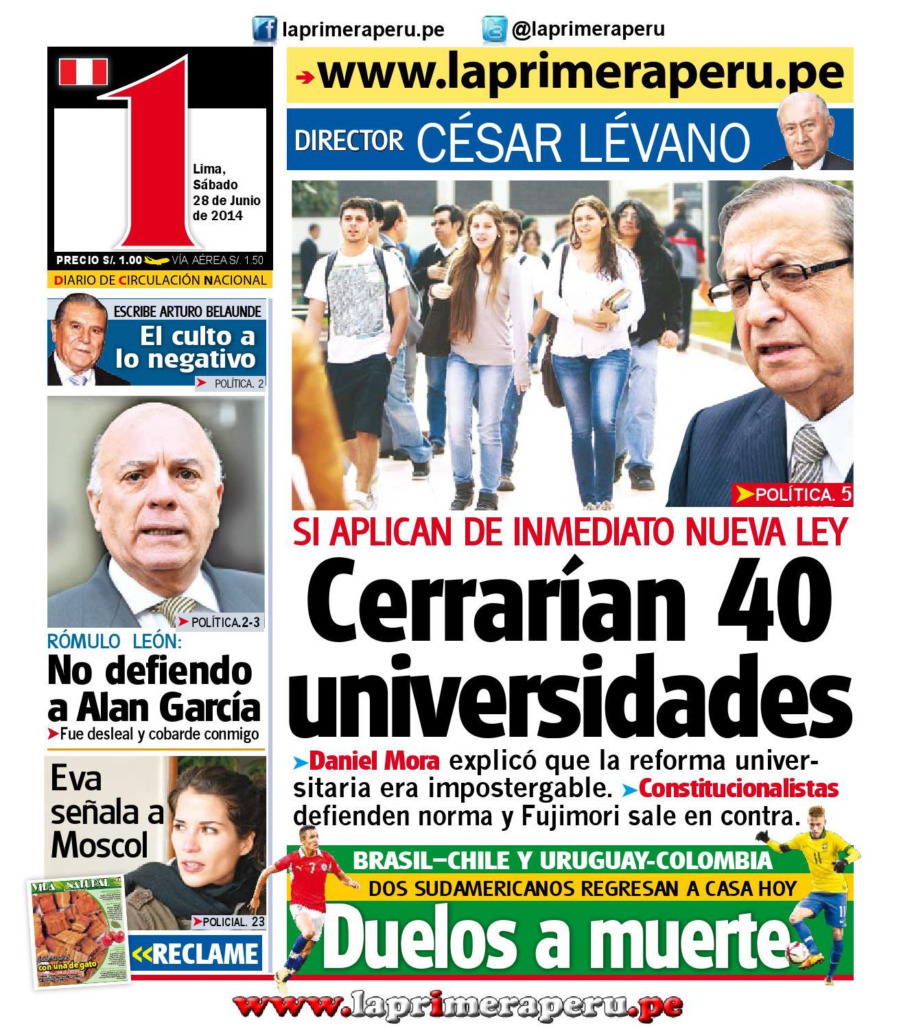 28 Junio 2014 By Diario UNO