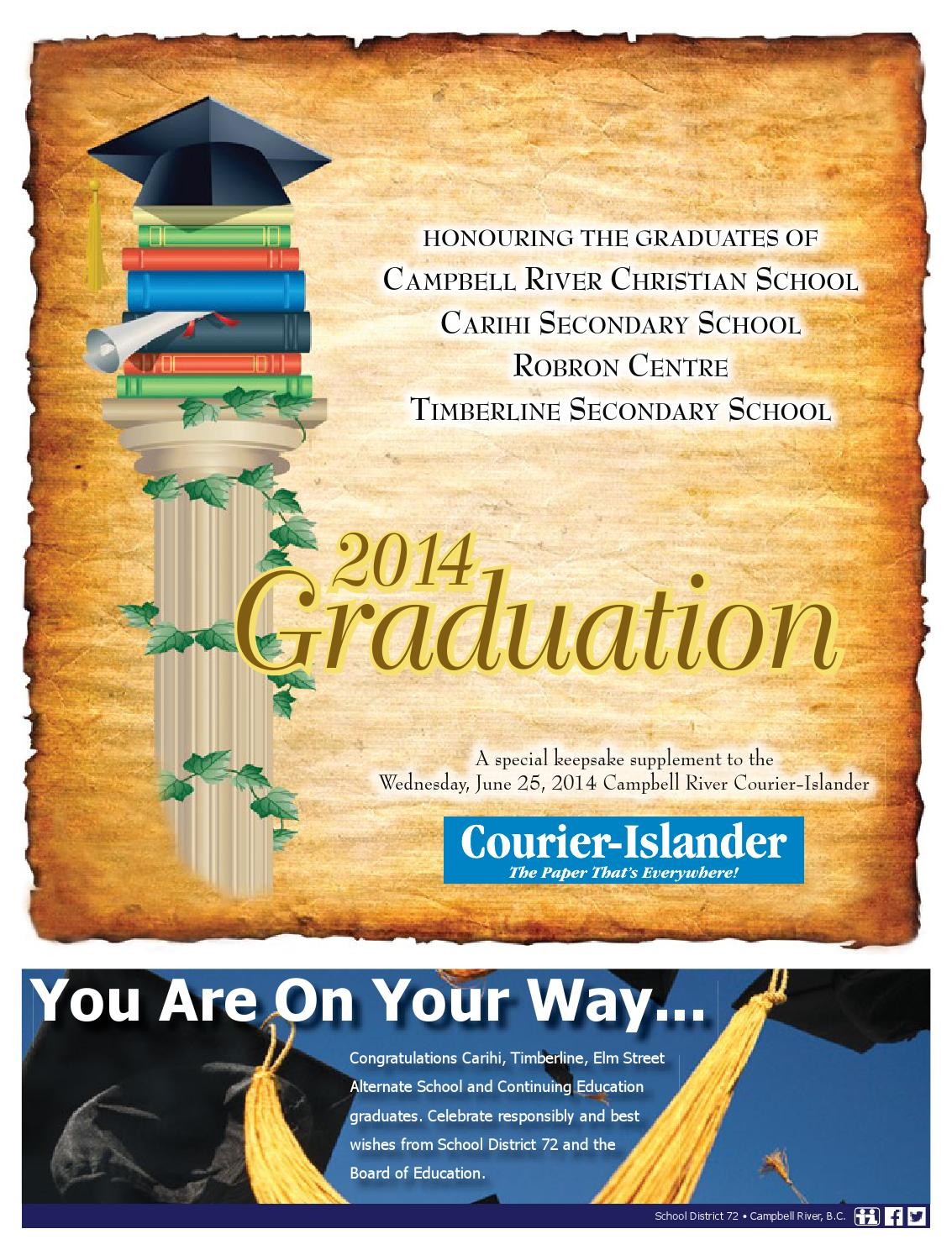 Crci062514 grads by Campbell River Courier-Islander - issuu