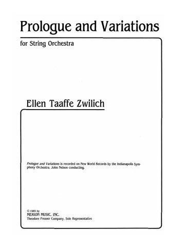 Zwilich Ellen Taaffe Theodore Presser Company