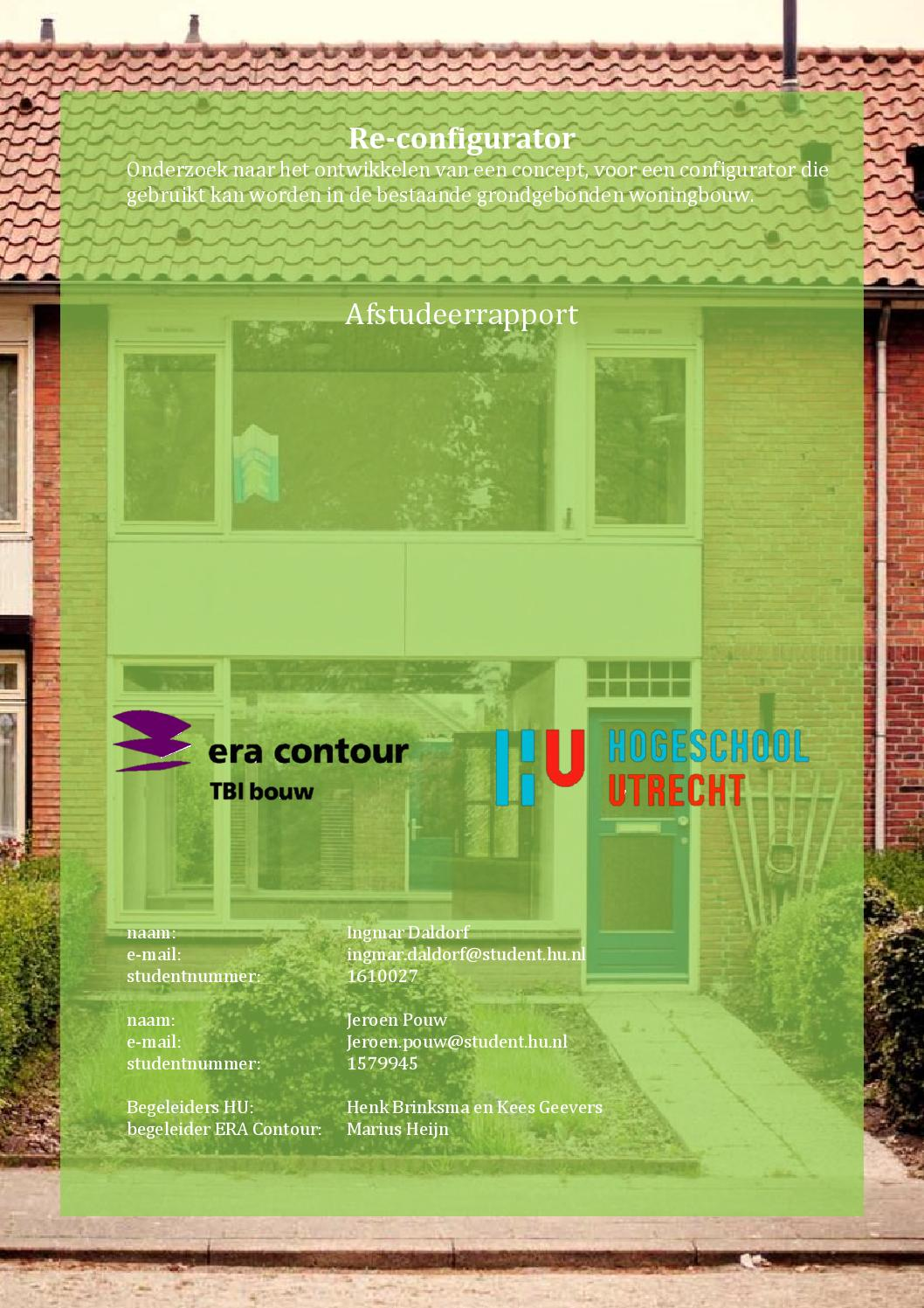 Re configurator afstudeerrapport by ingmar daldorf   issuu