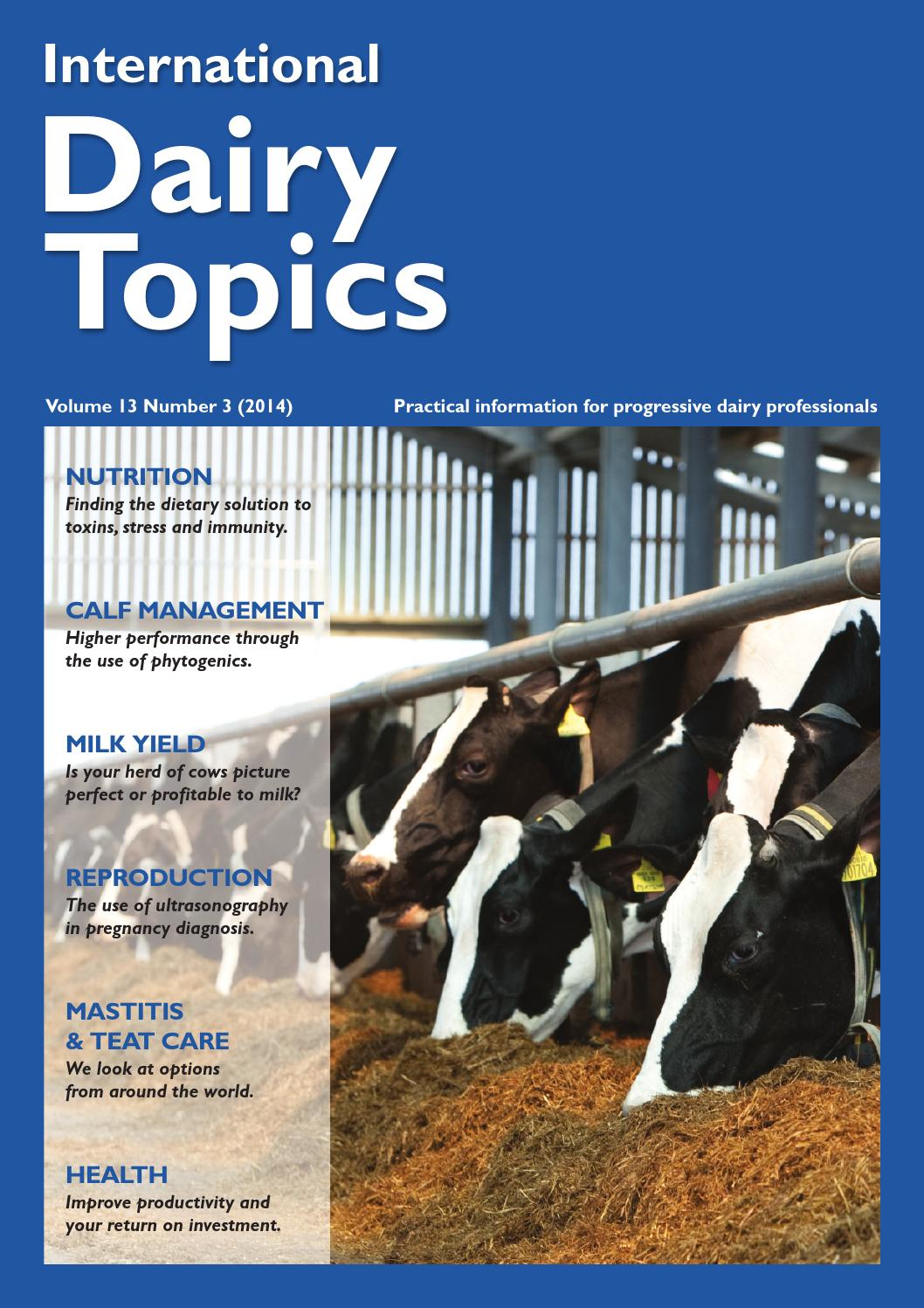 Dairy Topics By Positive Action Publications Ltd Issuu