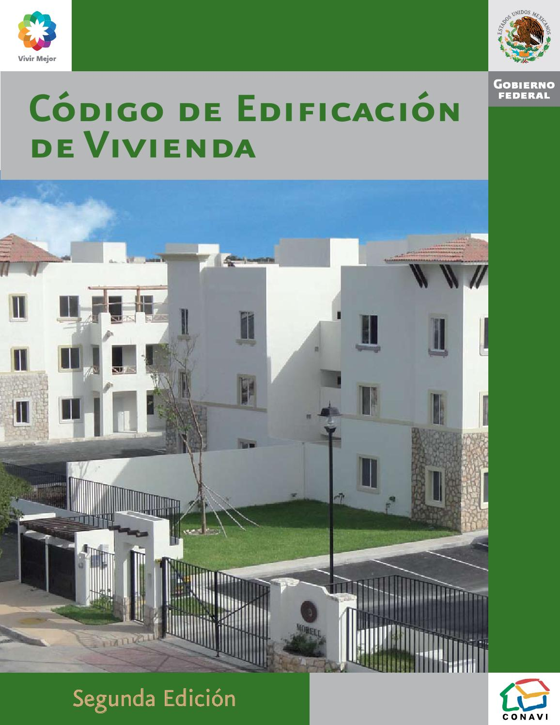 C digo de edificaci n de vivienda en m xico by jibran for Antropometria de la vivienda pdf