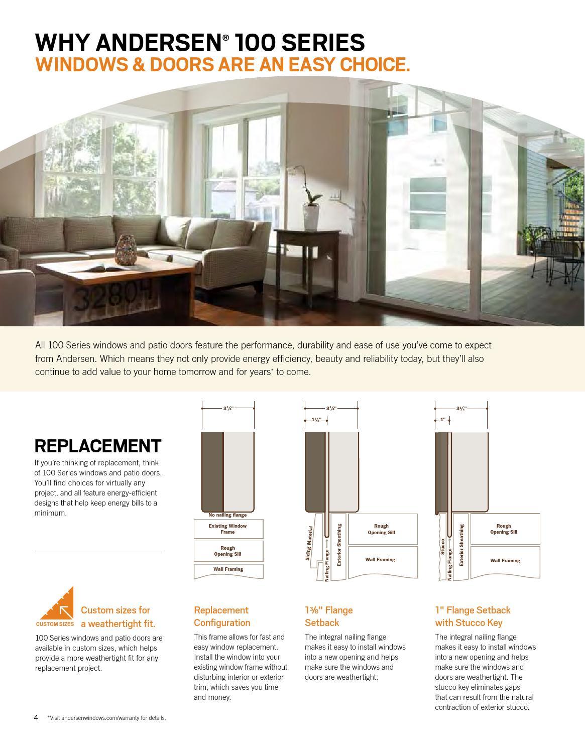 Andersen 100 Series Windows Amp Doors By Meek S Lumber