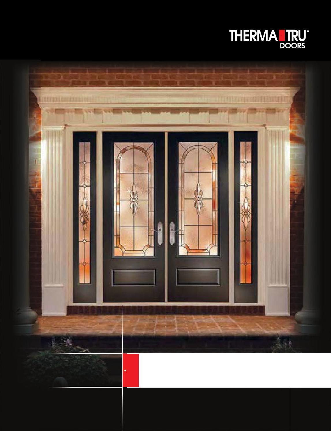 Therma Tru Entry Doors By Meek S Lumber Amp Hardware Issuu