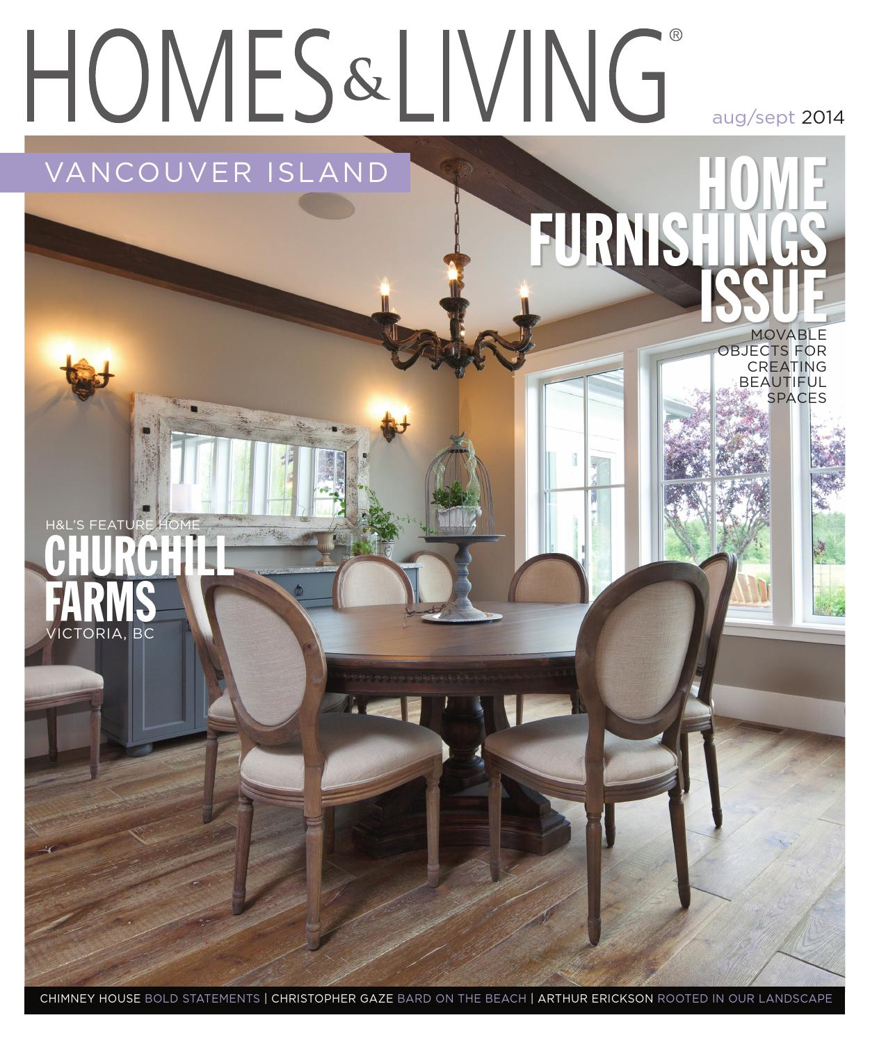 homes living vancouver island august september 2014 issue by homes living magazine issuu. Black Bedroom Furniture Sets. Home Design Ideas