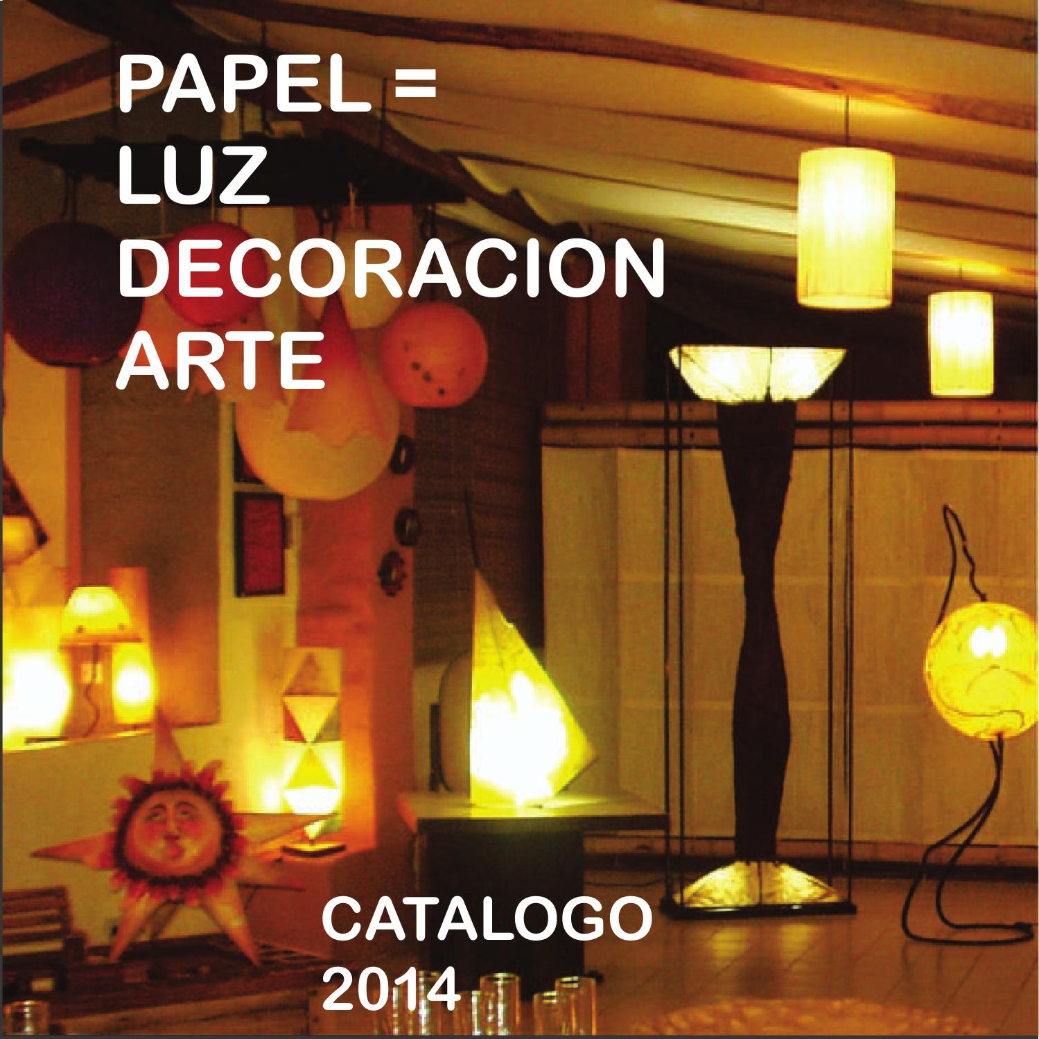 Catalogo de l mparas dise o y decoraci n by for Catalogo decoracion