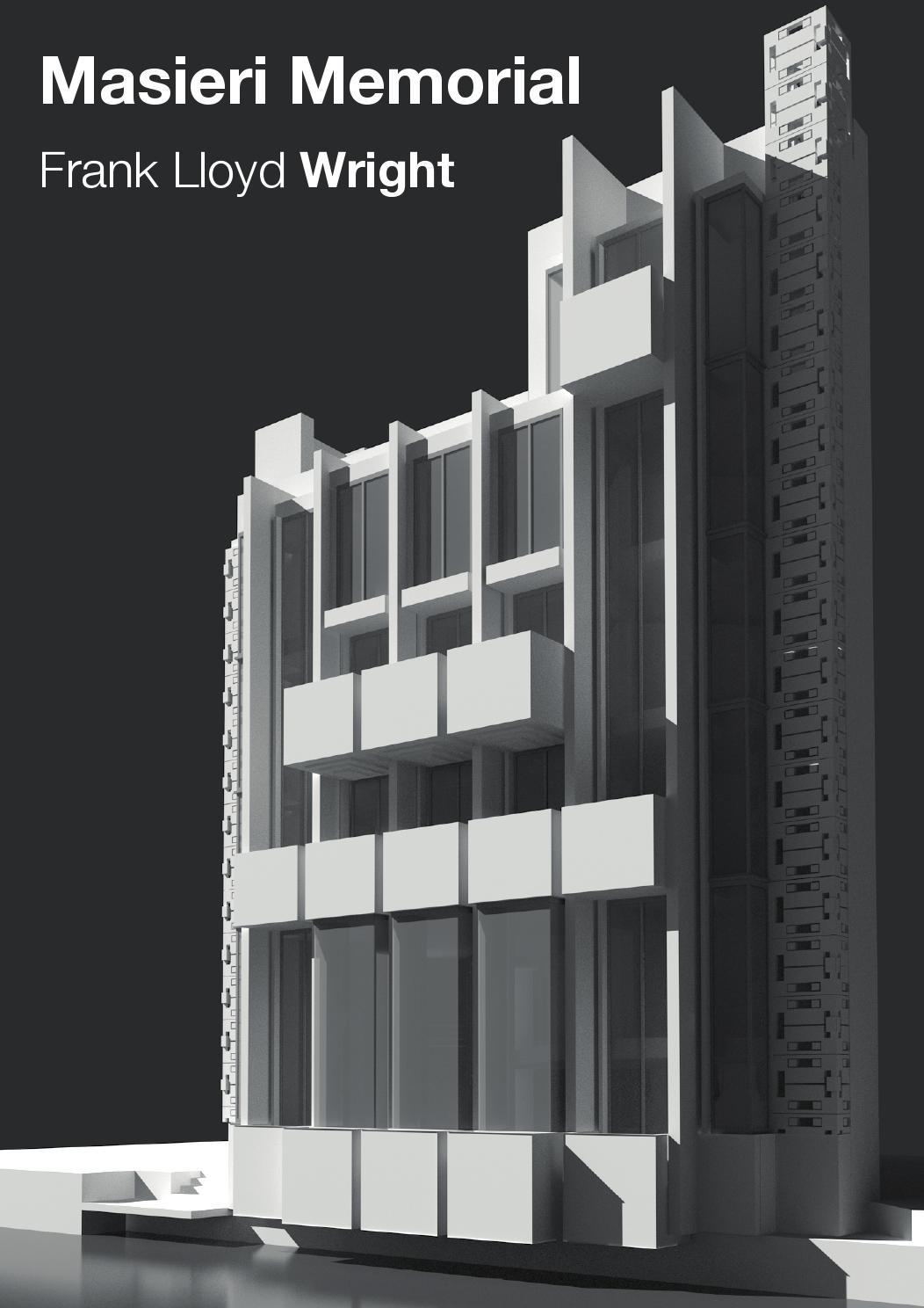 Masieri memorial f l wright by andrea zanovello issuu for Franco case dei progetti di lloyd wright