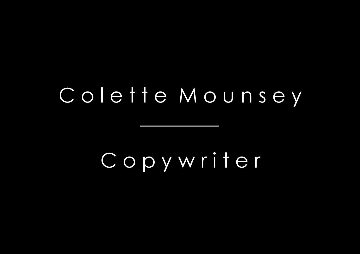 how to make a copywriting portfolio