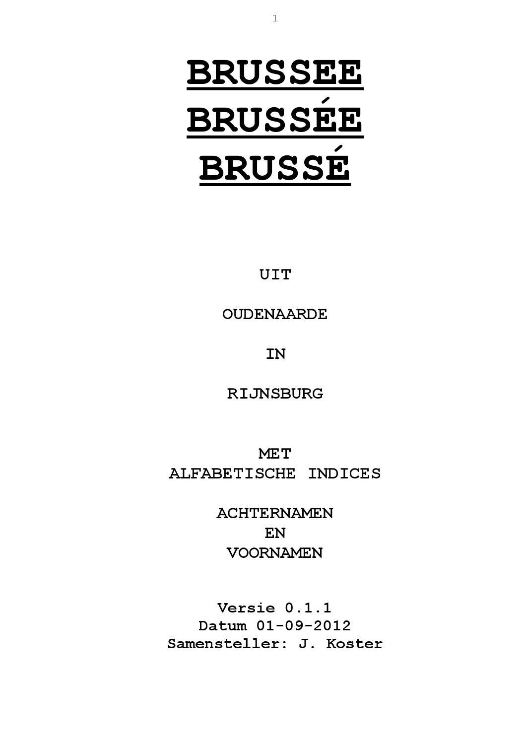 genealogie brussee by dennis bos issuu