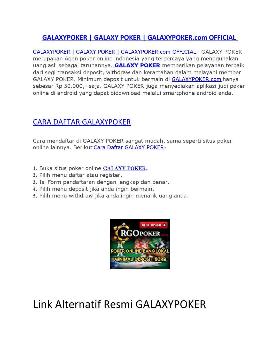 Image Result For Galaxypoker
