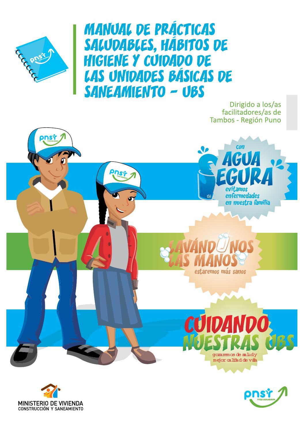 Guia pnsr tambos by programa nacional de saneamiento for Organizacion y limpieza del equipo de trabajo en la cocina