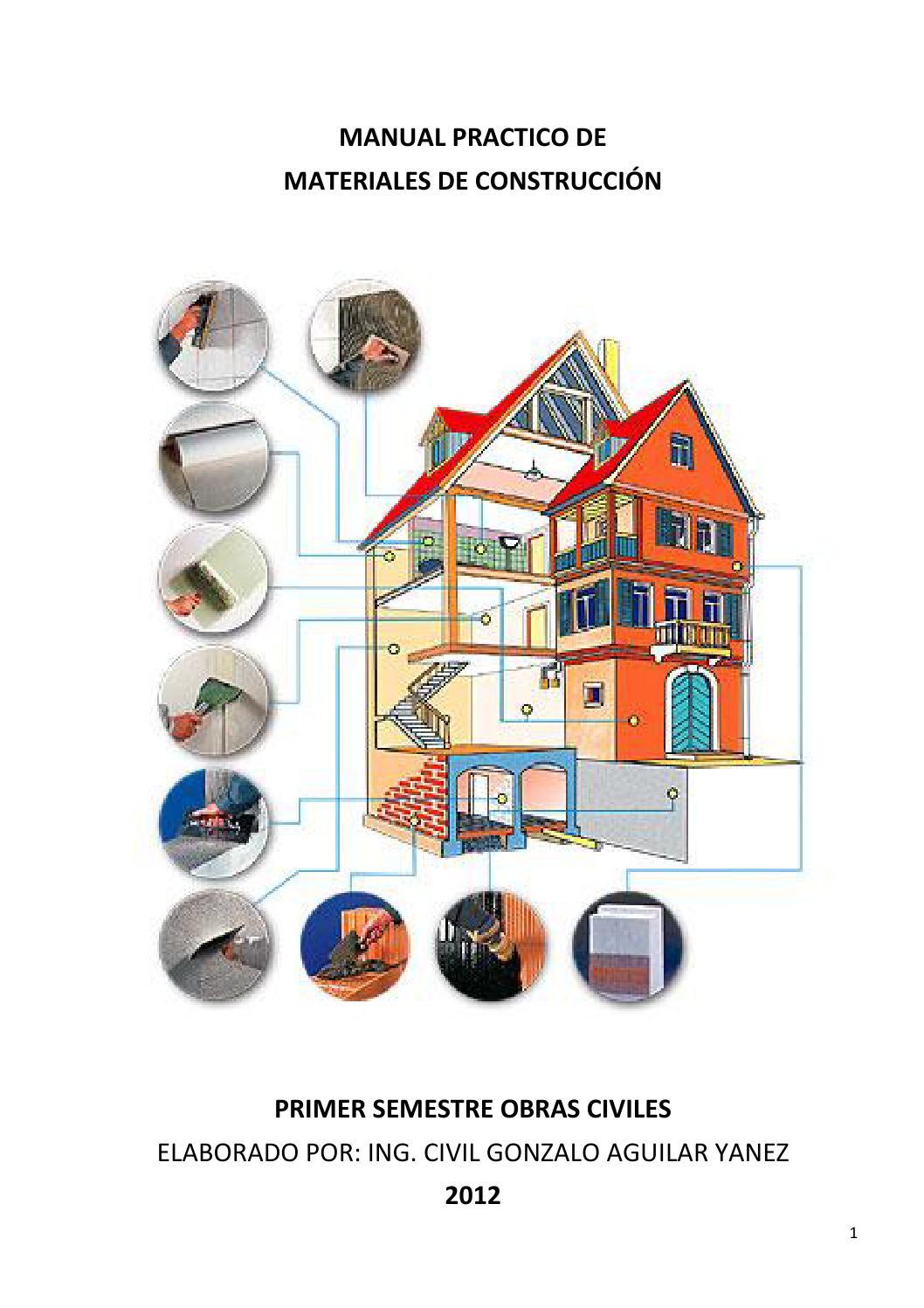 Manual practico de materiales de construcci n by instituto for Marmol material de construccion