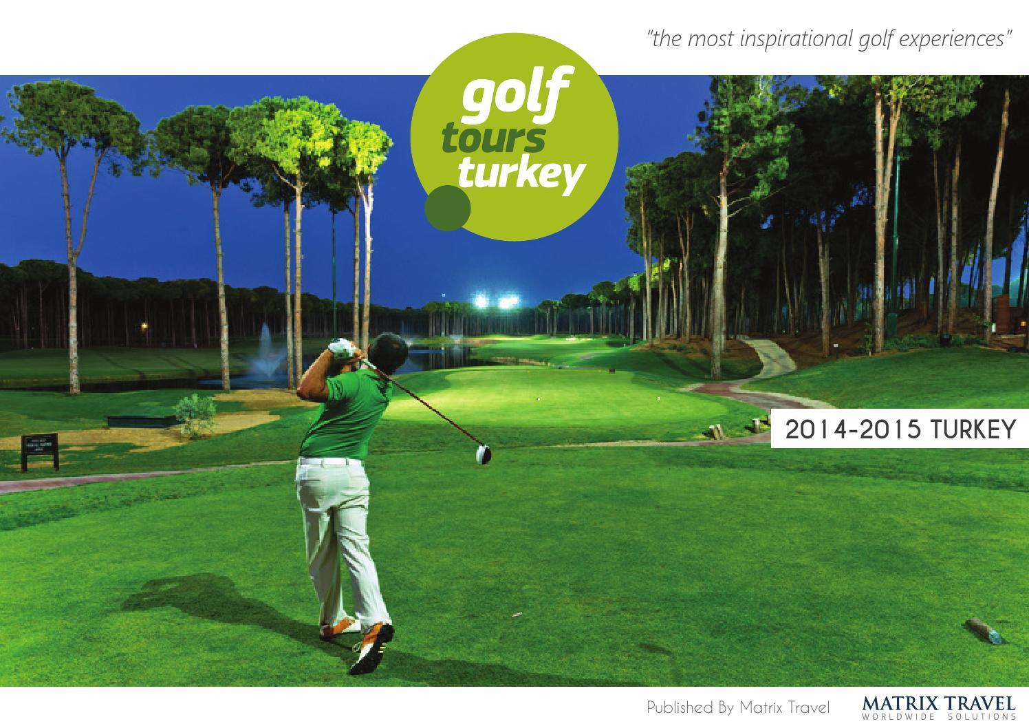 Matrix Travel Golf Tours Turkey