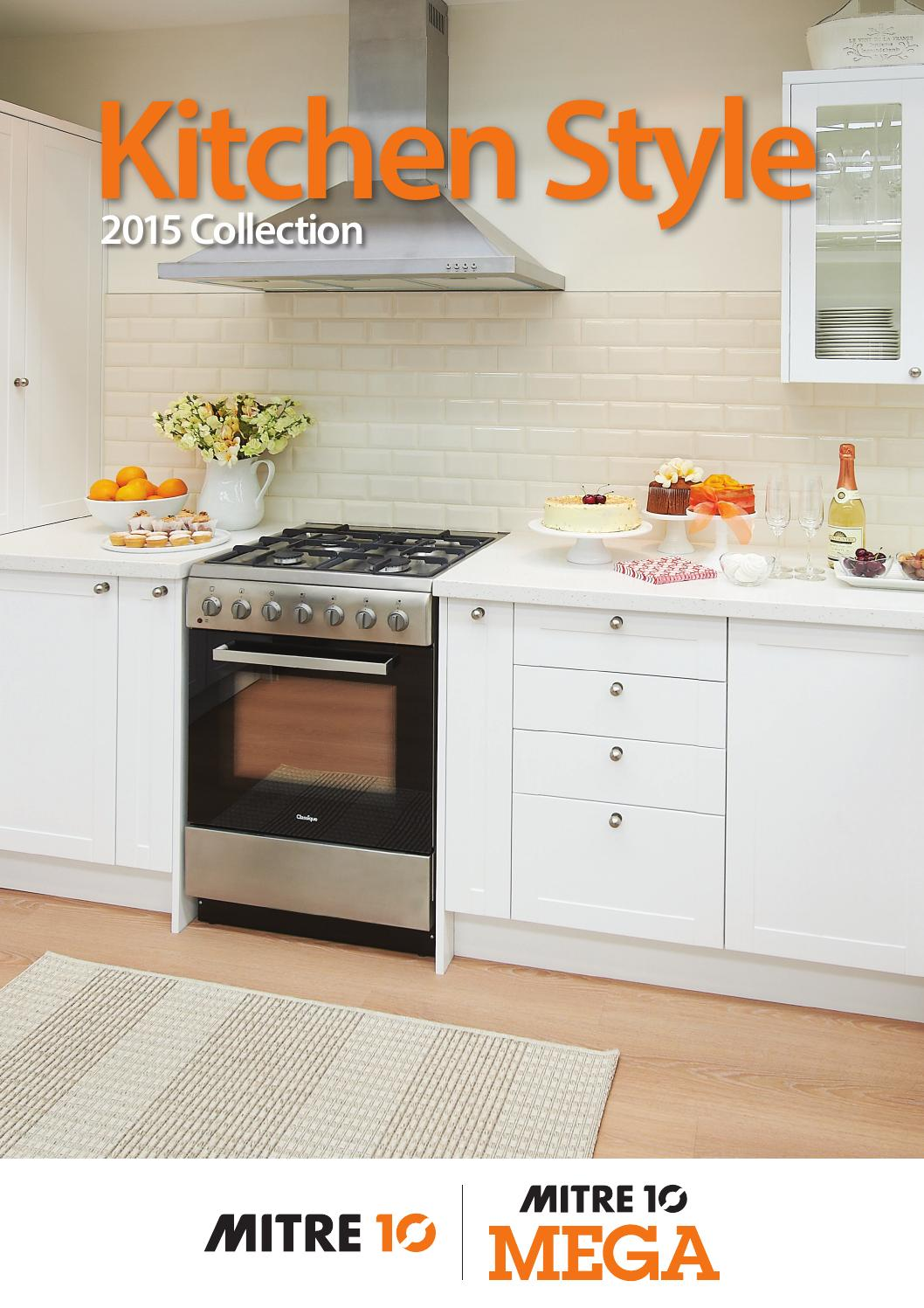 kitchen style 2015 collection by draftfcb issuu get the look renovate your whole kitchen mitre 10