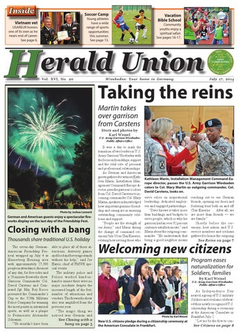 Herald Union - July 17, 2014