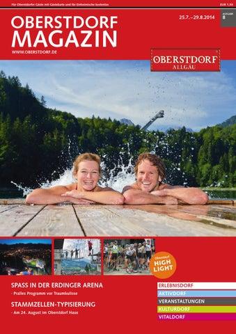 Oberstdorf Magazin 8/2014