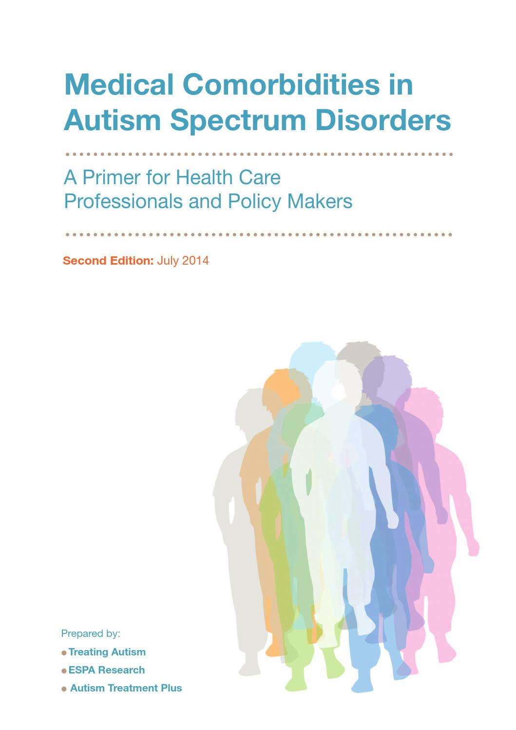 Medical Comorbidities In Autism Spectrum Disorder By