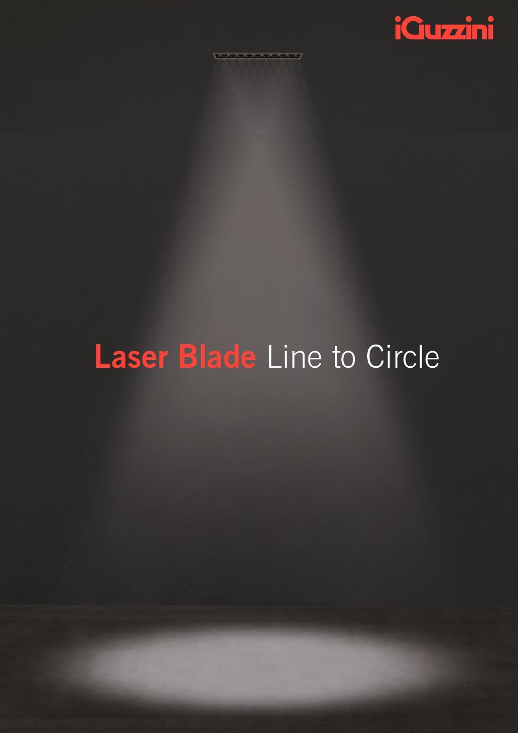 laser blade line to circle en by iguzzini. Black Bedroom Furniture Sets. Home Design Ideas
