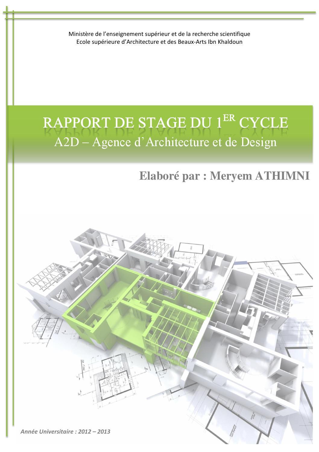 Rapport de stage by Meryem Athimni - issuu