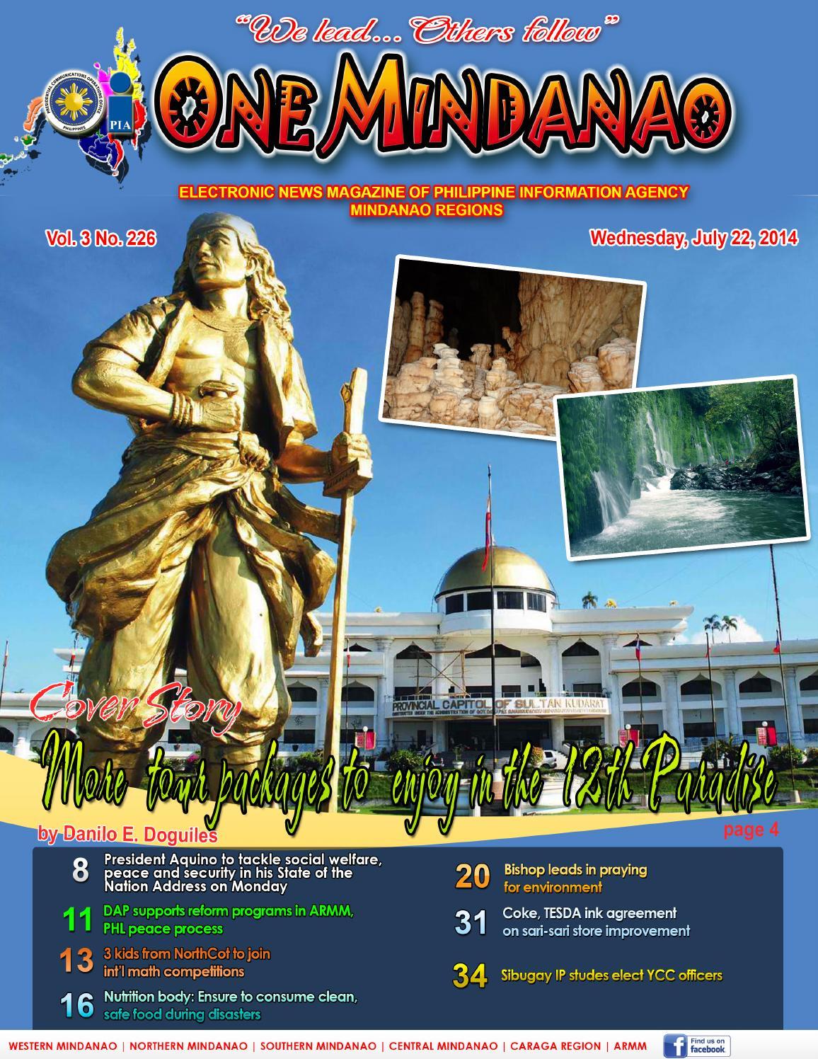 One Mindanao July 23 2014 By Pia Mindanao Issuu