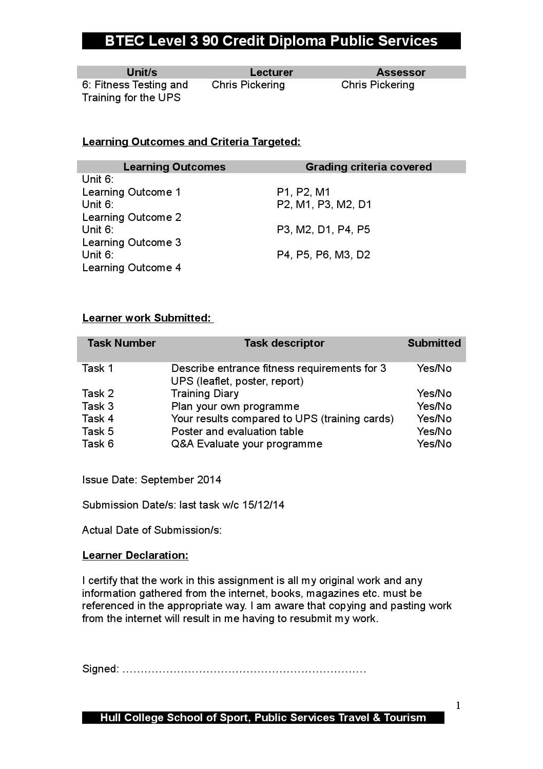fitness assignment Pe- fitness assignment - free download as word doc (doc / docx), pdf file (pdf), text file (txt) or read online for free.