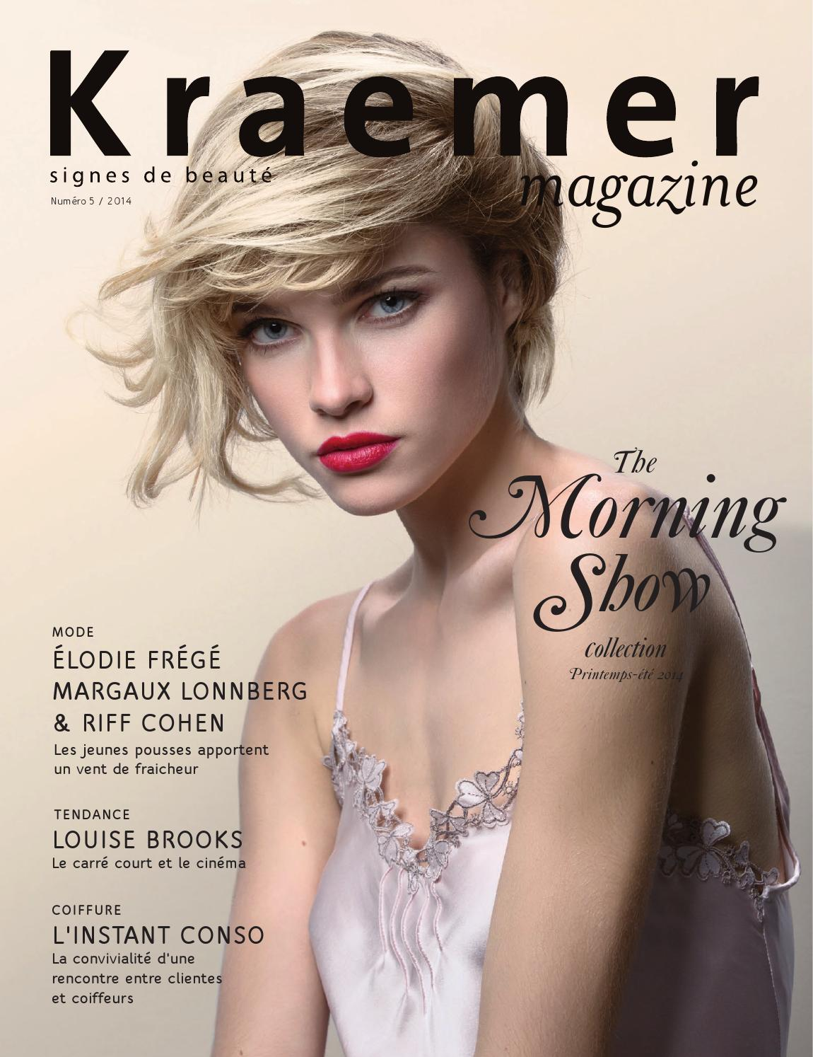 Magazine Fashion Page