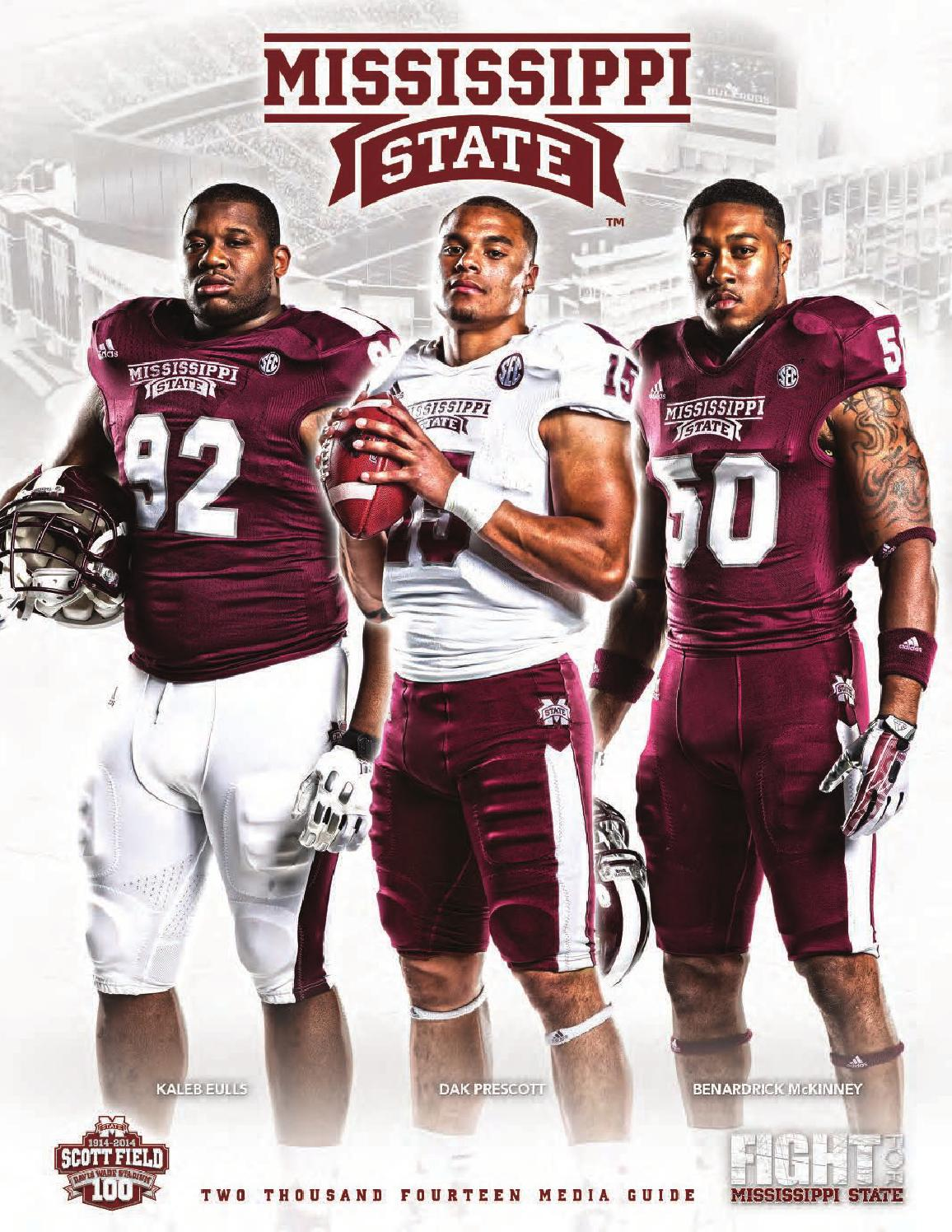 2014 Mississippi State Football Media Guide by Mississippi ...