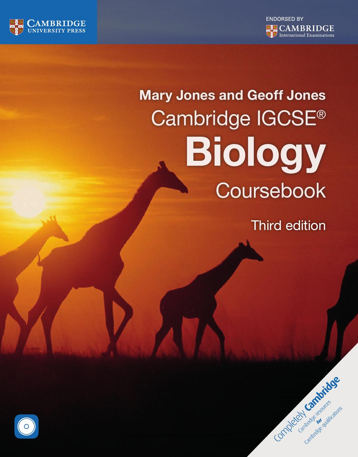 What does C.O.R.M.S. stand for in the IGCSE Biology mark scheme?