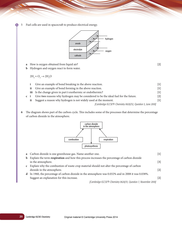 Download Edexcel GCSE Chemistry Past Papers