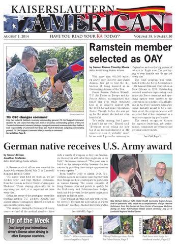 Kaiserslautern American - Aug. 1,  2014