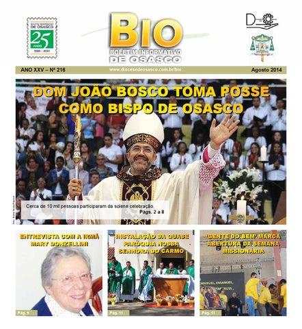 [Bio Diocesano Agosto 2014]