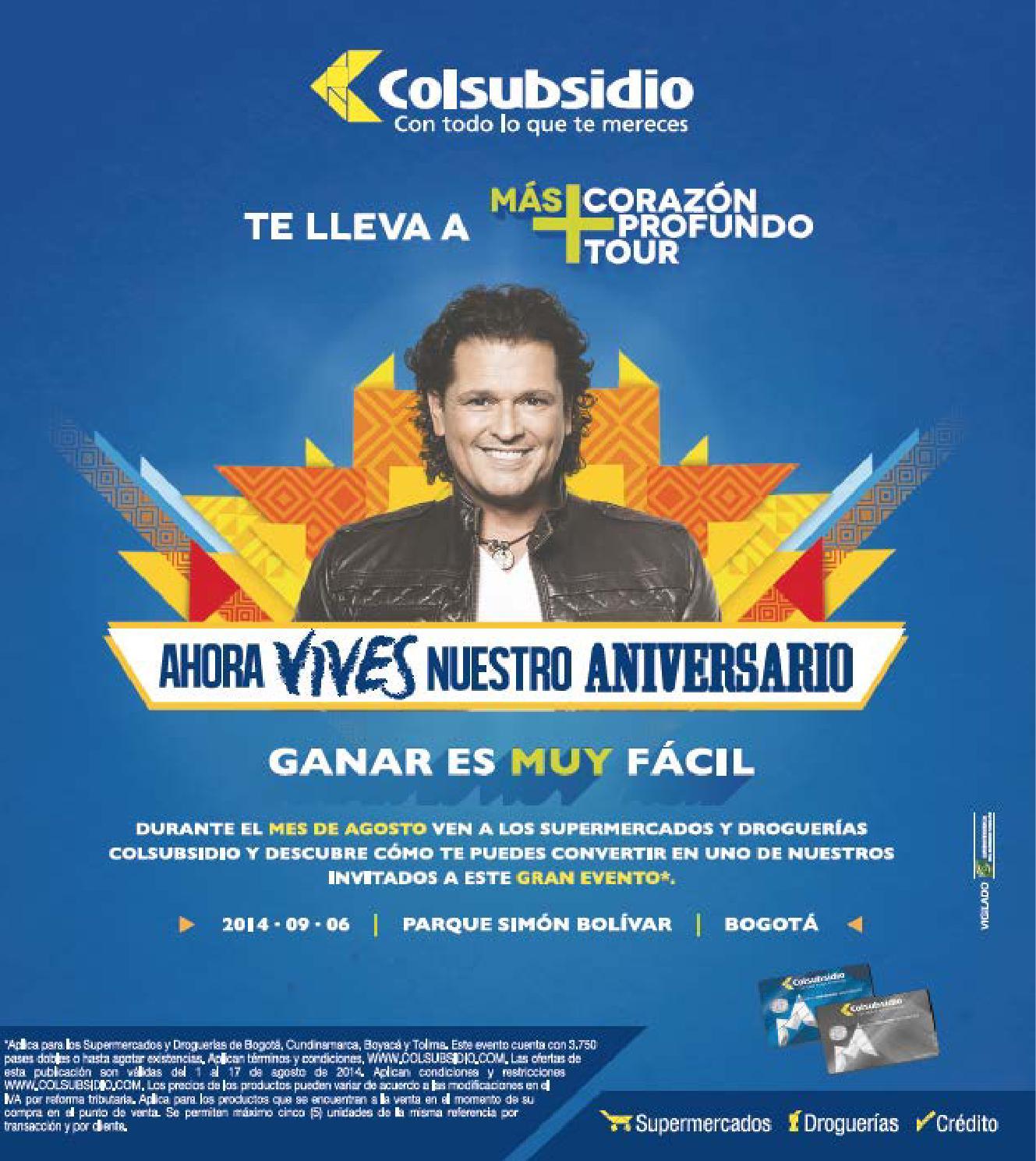 Catálogo 1-17 Agosto 2014 by Colsubsidio - issuu