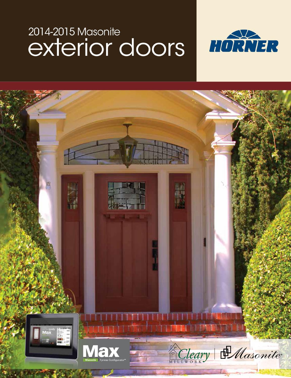 1497 #9D9C2E Masonite Steel & Fiberglass Exterior Door Full Line Catalog By Horner  wallpaper Masonite Fiberglass Exterior Doors 43651152