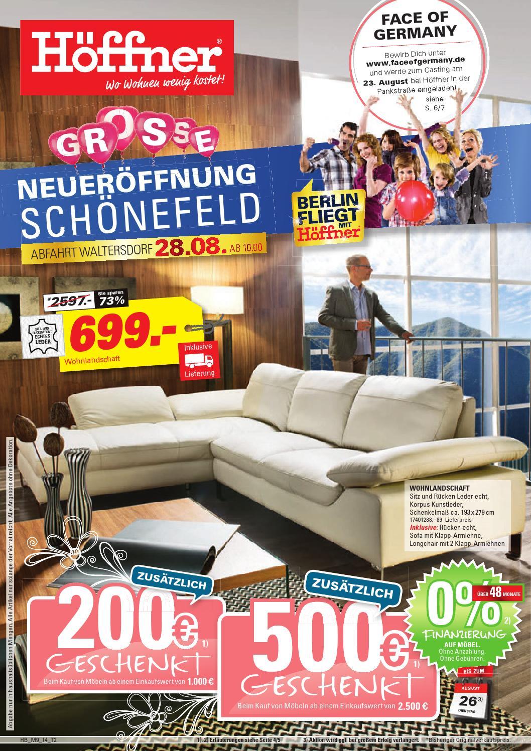 m bel h ffner neuer ffnung sch nefeld by berlin medien. Black Bedroom Furniture Sets. Home Design Ideas