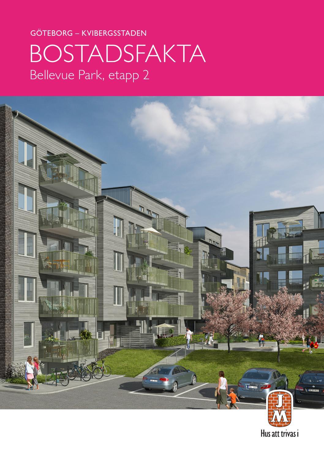 JM, Göteborg: Kvibergsstaden - Bellevue Park Etapp 2. Bostadsfakta ...