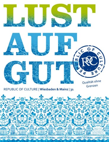 LUST AUF GUT Magazin | Wiesbaden & Mainz Nr. 31