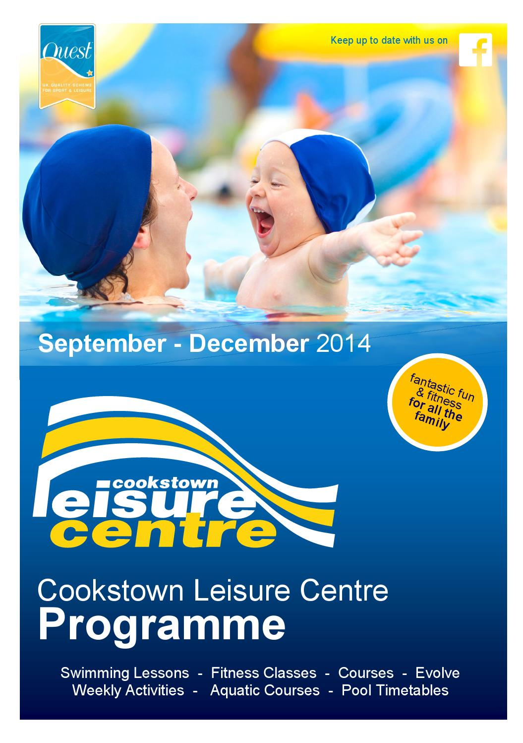 Cookstown Leisure Centre Programme By Cookstown District Council Issuu