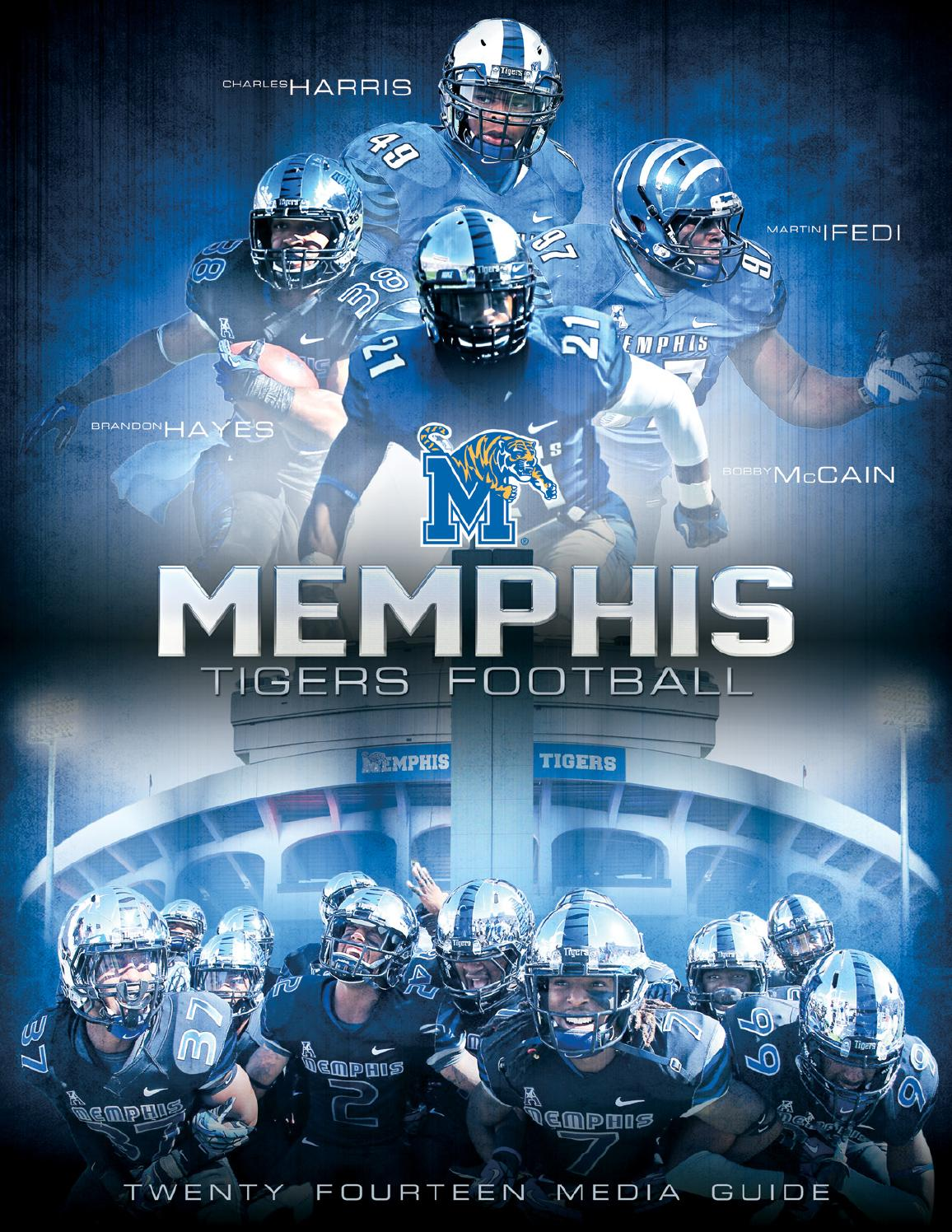 2014 Memphis Football Media Guide by University of Memphis ...