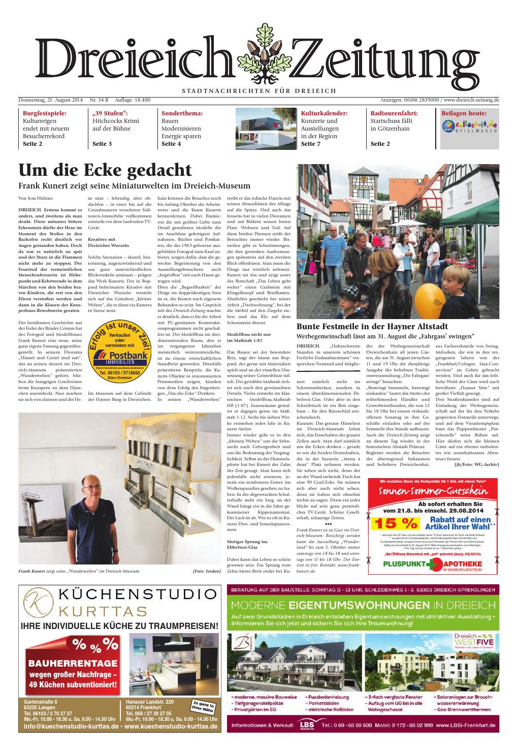 ^ Dz online 034 14 b by Dreieich-Zeitung/Offenbach-Journal - issuu