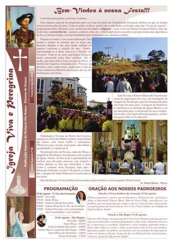 [Igreja Viva e Peregrina – Edição Especial Agosto 2014]