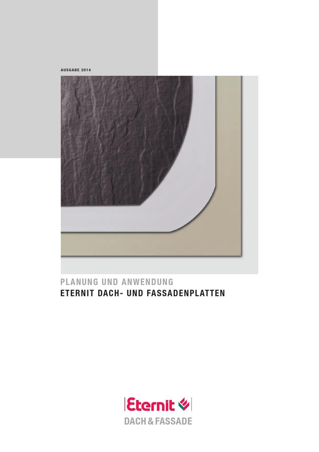 eternit dach planung und anwendung dachplatten 2014 by. Black Bedroom Furniture Sets. Home Design Ideas