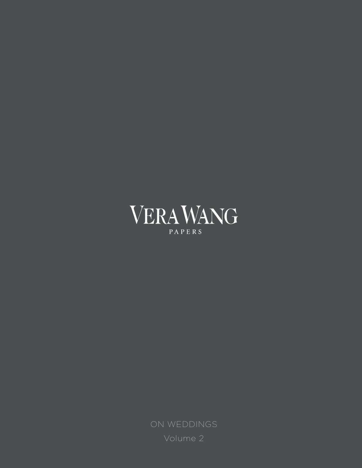 Vera Wang On Weddings Volume II by Crane Stationery (page ...