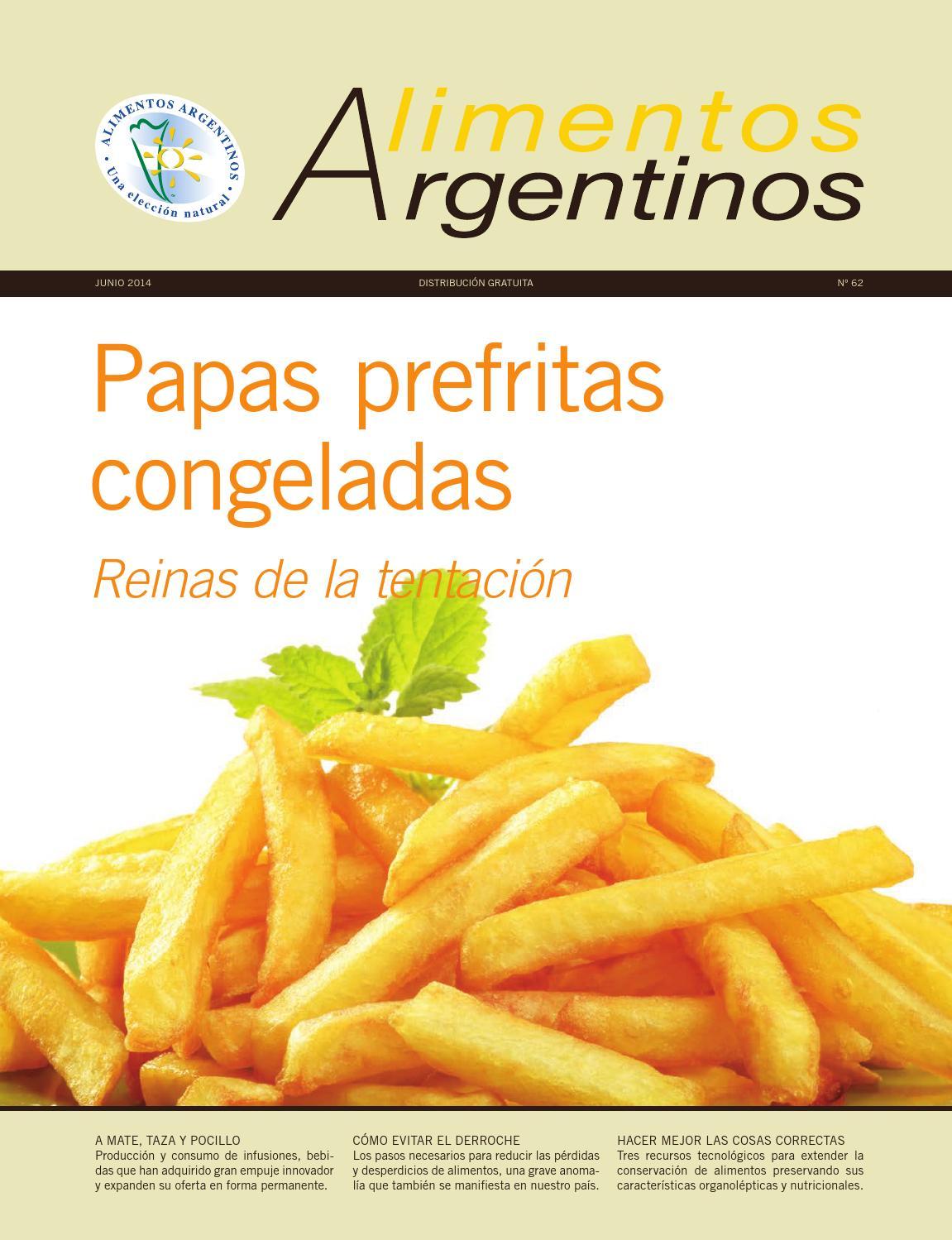 Revista alimentos argentinos n 62 by alimentos argentinos issuu - Empresas de alimentos congelados ...