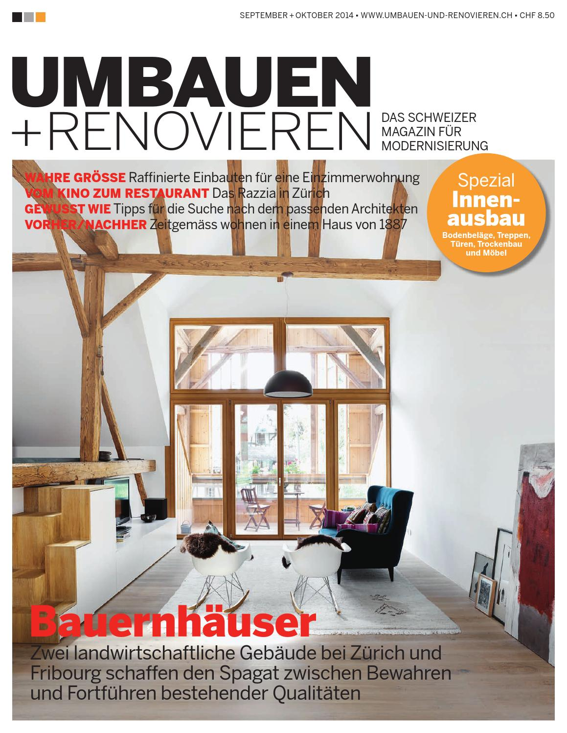 umbauen renovieren 5 2014 by archithema verlag issuu. Black Bedroom Furniture Sets. Home Design Ideas