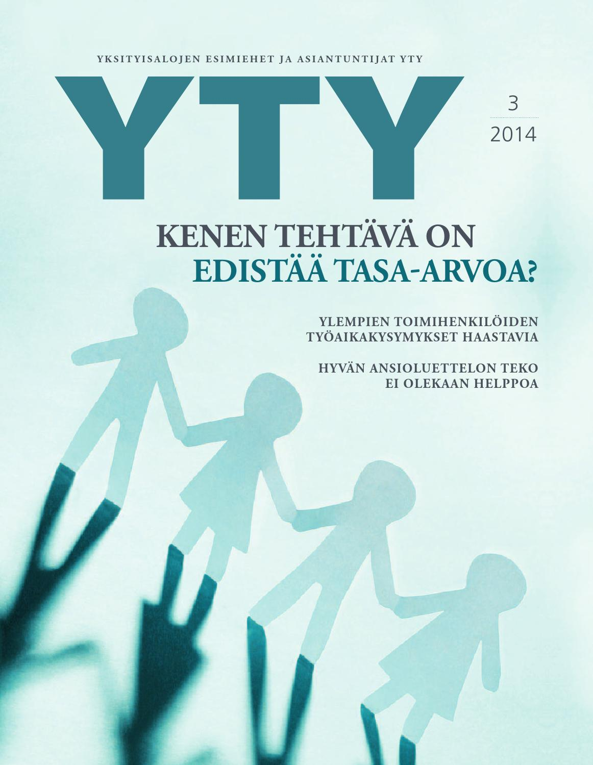 Yty 3 2014 by YTY ry - issuu